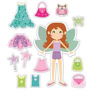 Galt Peri Giysileri Set (Fairy Dressing Up Set)