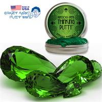 Crazy Aaron's Thinking Putty Persian Emerald