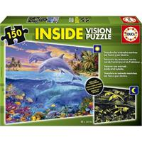 Educa Çocuk Neon 150 Puzzle Underwater World 15899