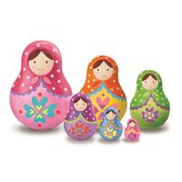 4M Paint Your Own Trinket Box - Russian Dolls
