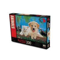 KS Games Puzzle 200 Cat And Dog