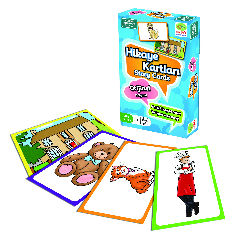 Hikaye Kartlari Story Cards Turkce Green Board Games Fiyati
