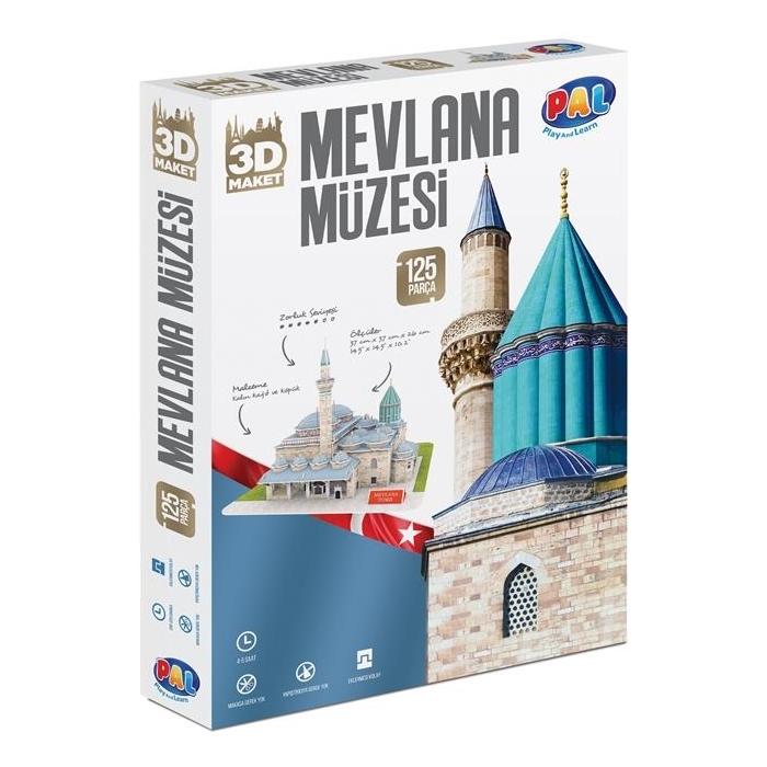 Pal Mevlana Müzesi 3d Puzzle Pal Fiyatı Taksit