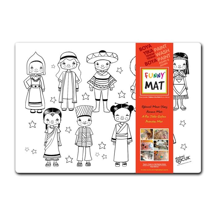 Akademi çocuk Funny Mat Dünya çocukları Akademi çocuk Fiyatı