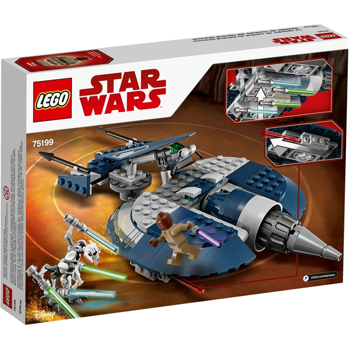 Lego Star Wars 75199 General Grievous Combat Speeder Lego Star Wars