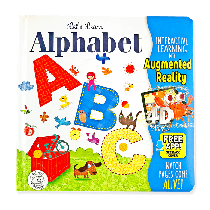 Little Hippo Let's Learn: Alphabet (İngilizce)