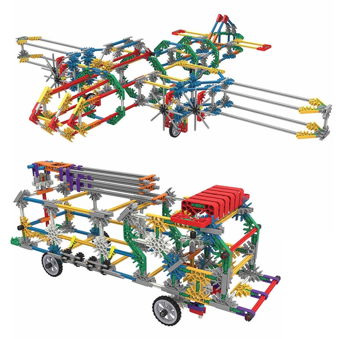 K'Nex 52 Farklı Model Building Set Knex 13465