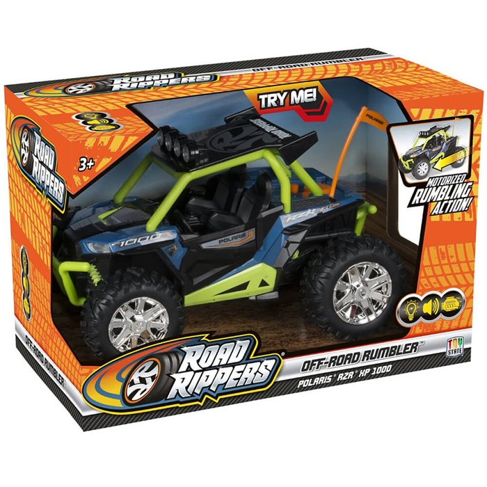 Road Rippers Off-Road Rumbler Oyuncak Araba Yeşil