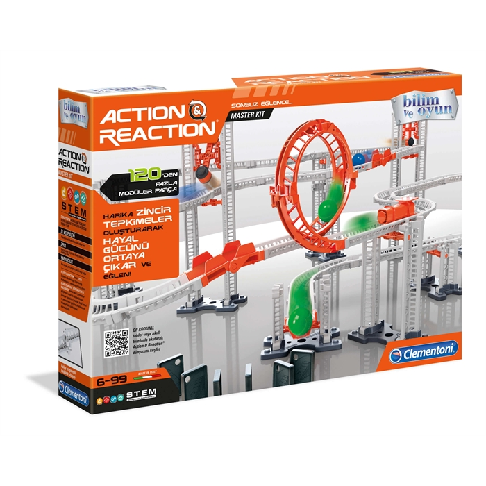 Clementoni Action and Reaction - Master Kit