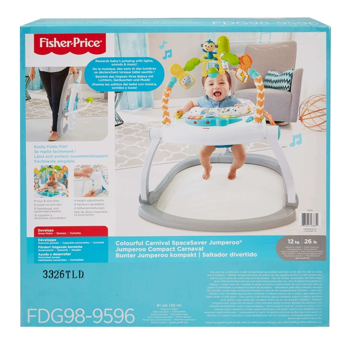 Fisher Price Renk Karnavalı Katlanabilir Jumperoo