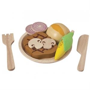 Plan Toys Biftek Seti (Steak Set)