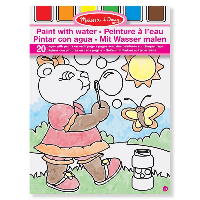 Melissa Doug Sulu Boyali Boyama Kitabi Pembe Melissa Doug