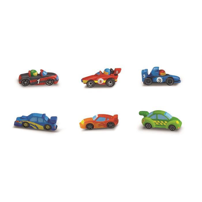 4m Mould Paint Racers Kalıp Boyama Yarış Arabaları 4m Fiyatı