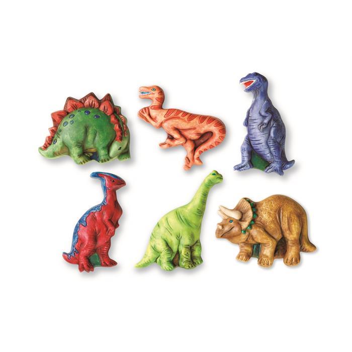 4m Mould Paint Glitter Dinosaur Kalip Boyama Dinazor Dunyasi