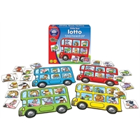 Orchard Little Bus Lotto (Renkli Otobüsler)