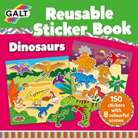 Galt Reusable Sticker Book - Dinosaurs
